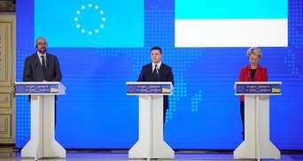 Украина и ЕС вместе считают Россию стороной конфликта на Донбассе, – Зеленский