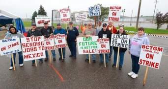 Медсестри, водії, викладачі: у США розпочався масовий страйк працівників
