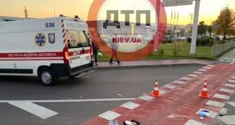 В Киеве пьяный водитель грузовика сбил пешеходов и устроил гонки с полицией: ужасное видео