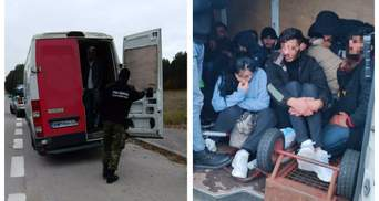 Десятки людей в бусе: в Польше задержали украинца, перевозившего мигрантов