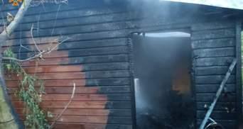 В Луцке горел зоопарк: погибло семейство обезьян