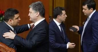 """Повториться протистояння Порошенка і Гройсмана, – нардеп про конфлікт Разумкова зі """"слугами"""""""