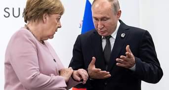 Не могла й уявити, що Путін окупує Крим, – Меркель