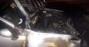 Невідомі підпалили авто працівника Офісу генпрокурора Калюжного