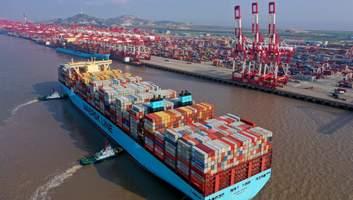 Китай збільшив експорт на 7,2% тоді, коли весь світ у кризі