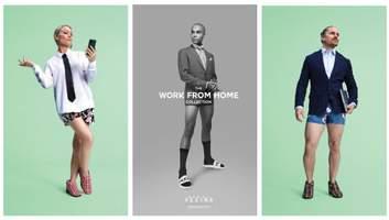 """Мода епохи пандемії: колекція """"Робота з дому"""" від канадського бренду – кумедні фото"""