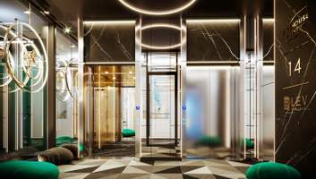 Как должен выглядеть бизнес-класс: впечатляющие фото представительных этажей в ЖК ARTHOUSE park