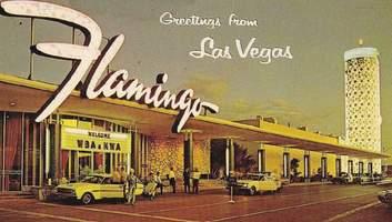 """Гангстеры, азарт и неоновая роскошь: фотоистория легендарного казино """"Фламинго"""" в Лас-Вегасе"""