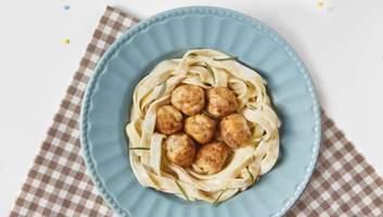 Тальятелле с куриными боллами: домашний рецепт