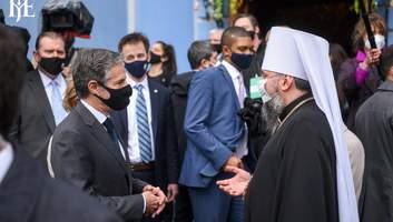 РПЦ лишається учасником війни на Донбасі: в зустрічі Епіфанія та Блінкена побачили знак