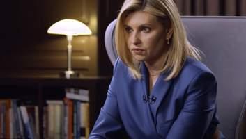 Влияние на мужа, жизнь на госдаче, тяжелые моменты: первое телеинтервью Елены Зеленской