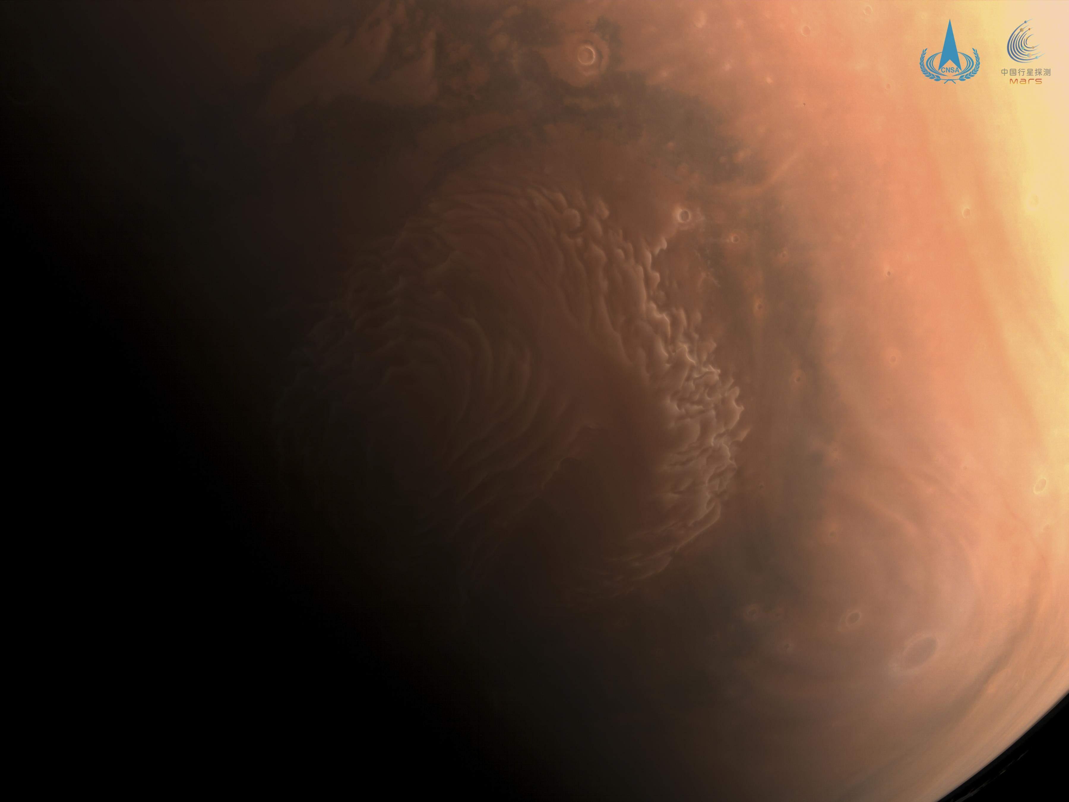 Кольорове фото Марса