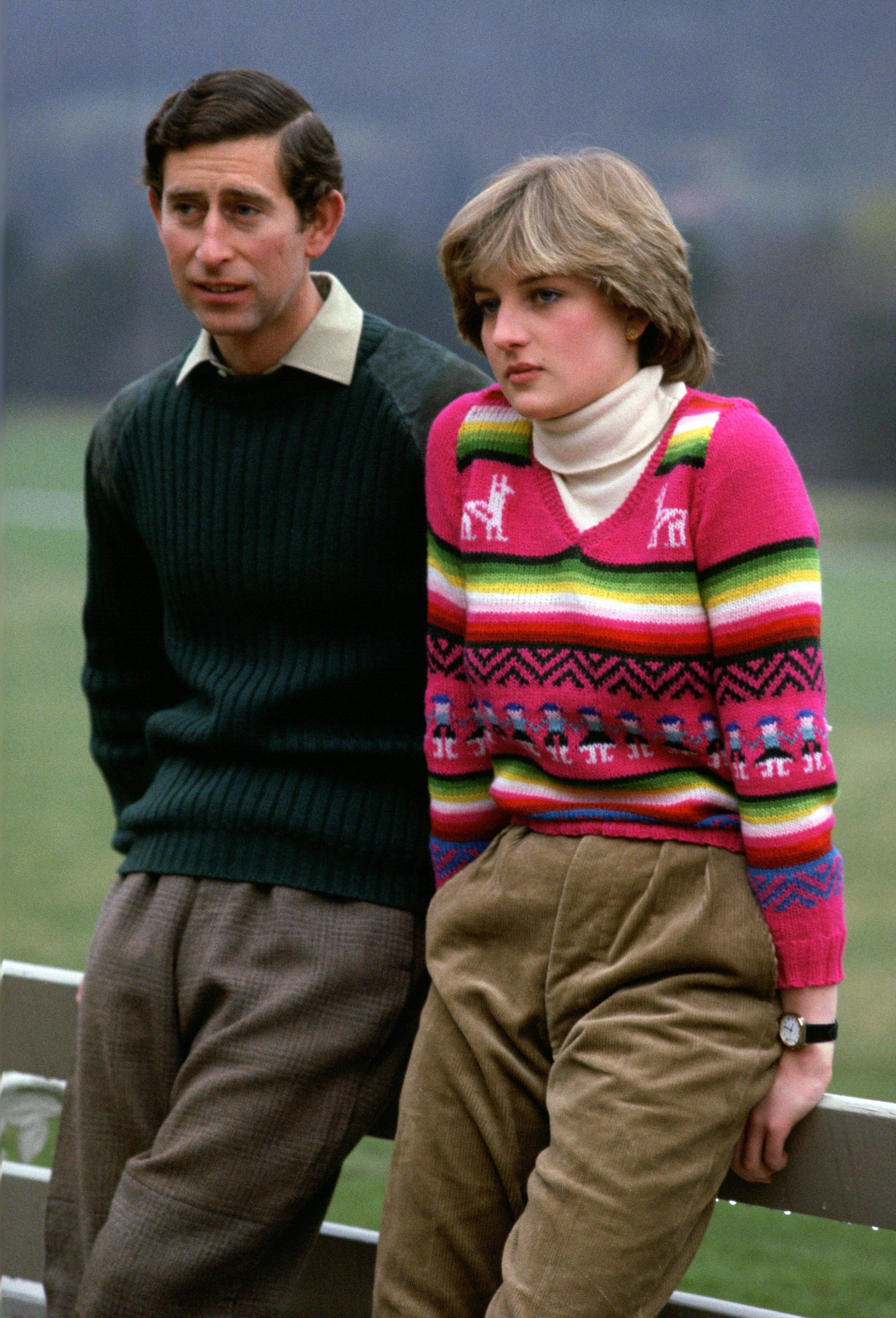 Принцеса Діана і принц Чарльщ