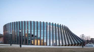 Університет з ефектом доміно: чим вражає непересічна споруда