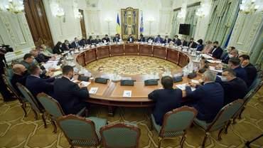 РНБО збереться на засідання: про що говоритимуть