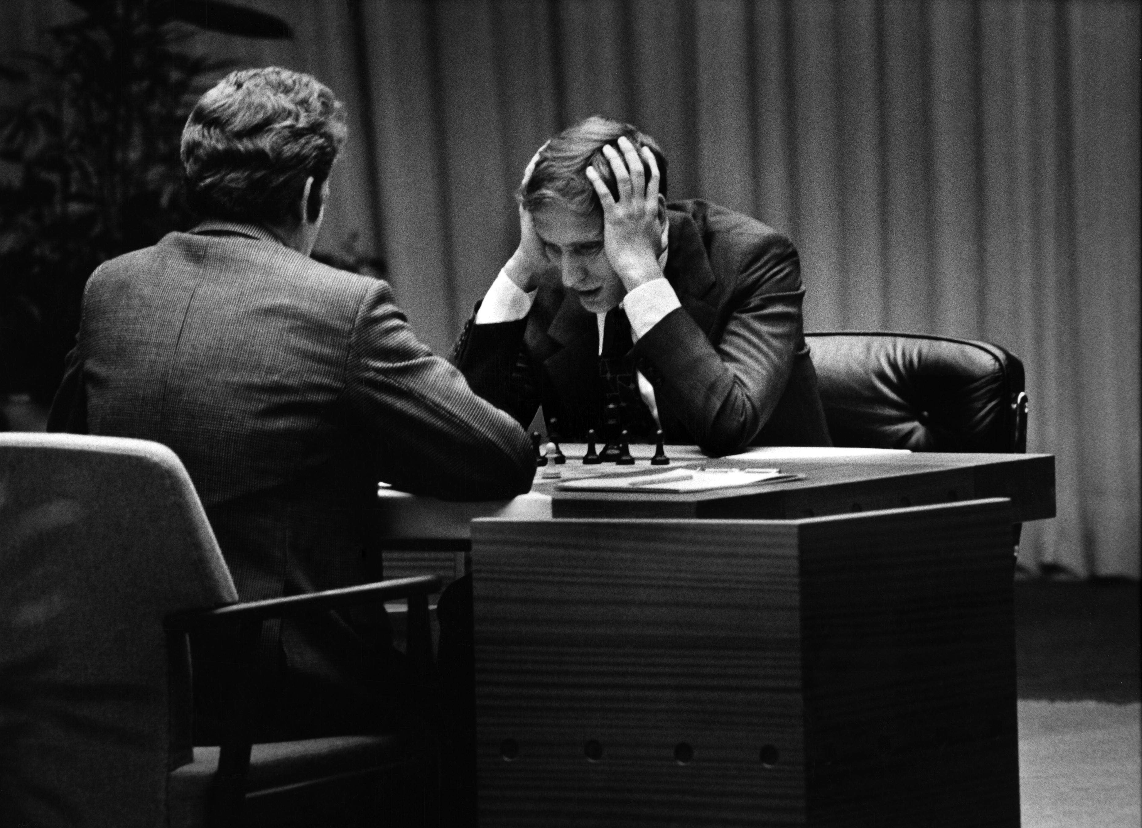 Боббі Фішер на легендарній грі в 1972 році