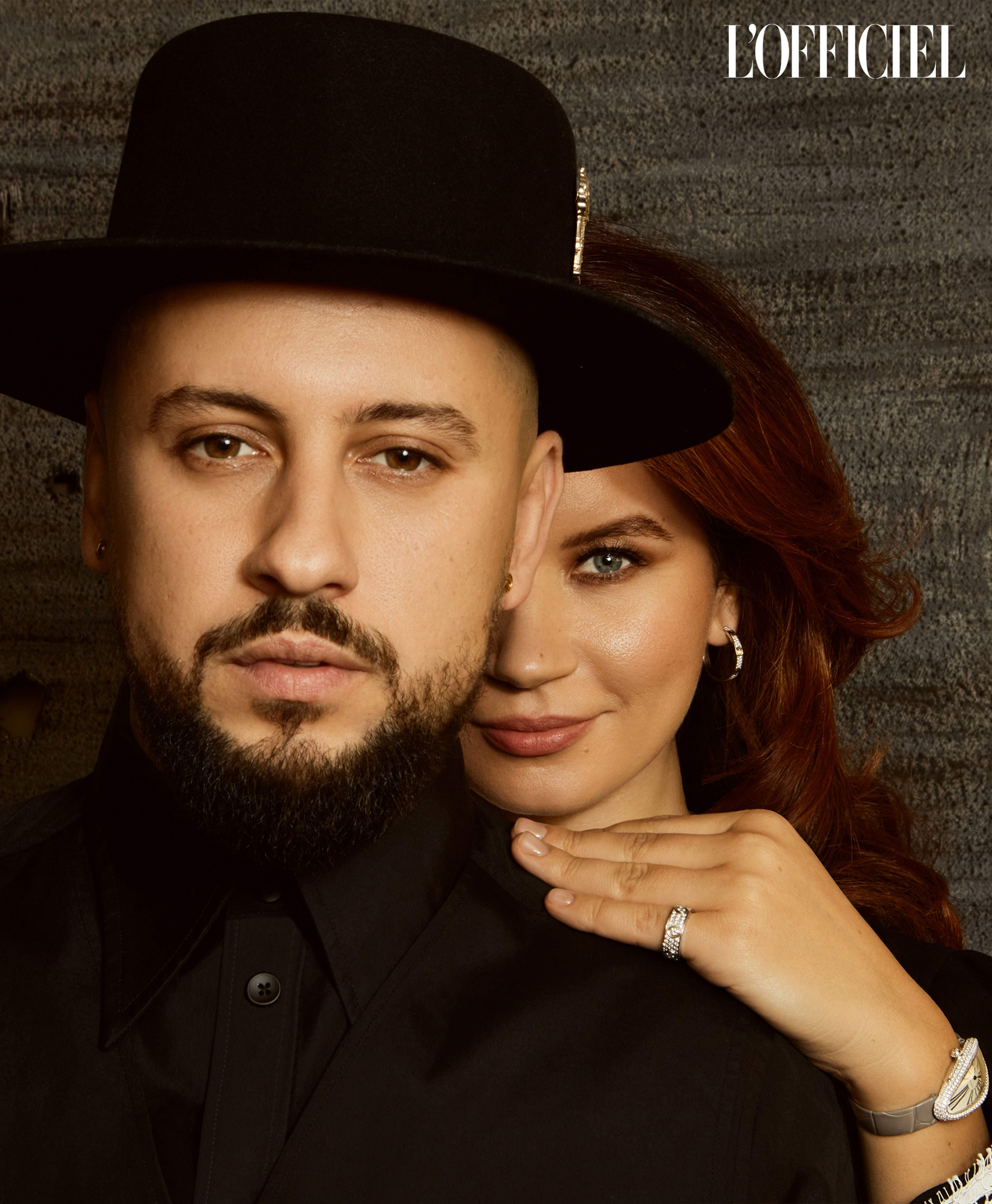 Монатік з дружиною Іриною
