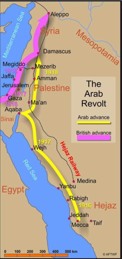поставстання арабів