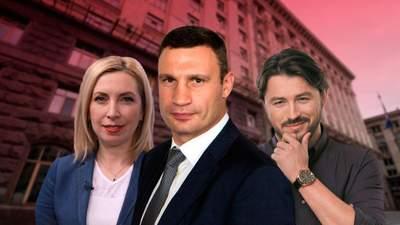 Хто йде у мери Києва: список і рейтинг кандидатів