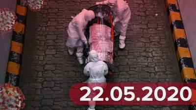 Новини про коронавірус 22 травня: послаблення карантину в Україні та новий епіцентр інфекції