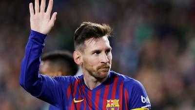 """Мессі на тренуванні """"Барселони"""" показав шалену техніку відбору м'яча: відео"""