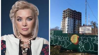 Скандальные застройки Билозир: во что превращает Киев народная артистка