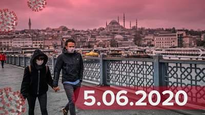 Новости о коронавирусе 5 июня: ослабление карантина, ограничение въезда в ЕС