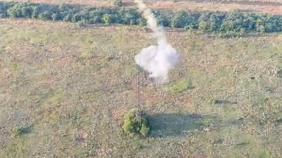 Українські військові знищили систему відеоспостереження бойовиків: захопливе відео