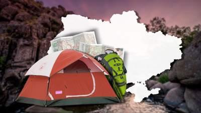 Лучшие места для отдыха в палатках: подборка интересных локаций