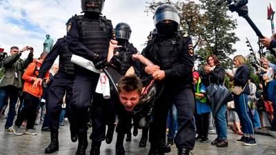 Массовые аресты в России: как Путин оказался в сложной ситуации