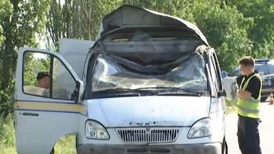 Підрив автомобіля Укрпошти на Полтавщині: поліція затримала трьох підозрюваних