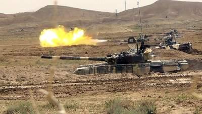 Збройний конфлікт Азербайджану та Вірменії загострився: у боях застосували танки