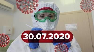 Новини про коронавірус 30 липня: антирекорд в Україні та ахіллесова п'ята геному вірусу