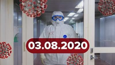 Новини про коронавірус 3 серпня: невтішні прогнози вчених, гонитва за вакциною