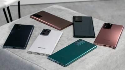 Galaxy Note20 і Note20 Ultra: характеристики та ціна довгоочікуваних флагманів