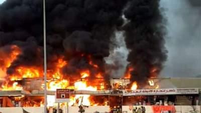 Масштабна пожежа в ОАЕ: після ринку зайнялася лікарня – усе, що відомо