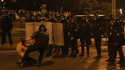 Протесты в Беларуси: МВД страны сообщило о первой жертве