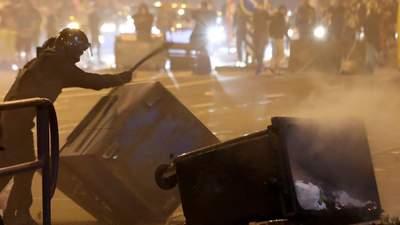 Столкновения в Минске перекинулись на окрестности: силовики стреляли по окнам жилых домов