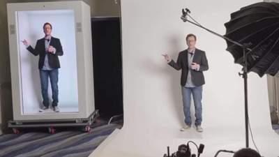 Технологія PORTL створює голограми в повний зріст в реальному часі