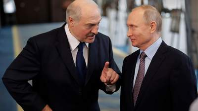 Лукашенко провів розмову з Путіним: говорили про ситуацію у Білорусі