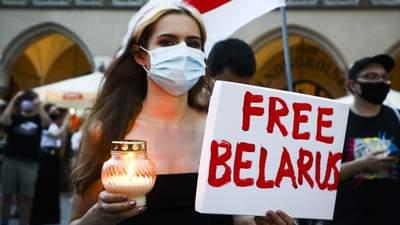 Протести в Білорусі: хроніка подій у відео