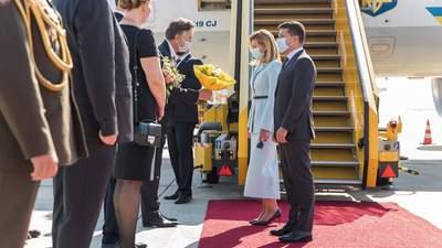 Елена Зеленская продемонстрировала элегантный образ во время визита в Австрию: фото