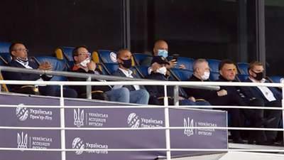 """Депутати розповіли, як опинилися у ВІП-ложі на матчі """"Динамо"""" під час карантину"""