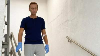 Я не знав, звідки беруться слова: Навальний розповів про своє самопочуття