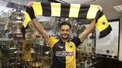 Футболист сборной Украины Шахов покинул Серию А и продолжит карьеру в Греции