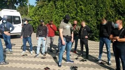 Во время съезда ОПЗЖ в Одесской области полиция задержала полсотни вооруженных людей: фото