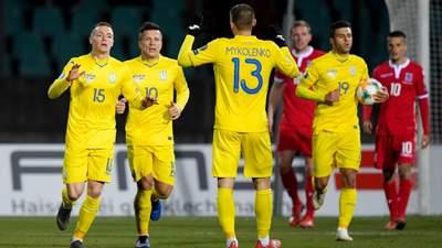 Шевченко викликав до збірної України 28 гравців, є один новачок
