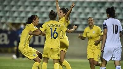 Українки розгромили збірну Греції у відборі на Євро-2022: дубль оформила американська легіонерка