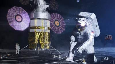 NASA возвращает человека на Луну: все что нужно знать о космической программе Artemis