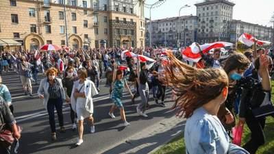 """""""Забіг вільних"""", затримання Багінської: що відбувається в Білорусі 26 вересня – фото, відео"""